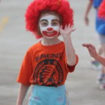 Third Party Event Funder- Child with Clown Facepaint