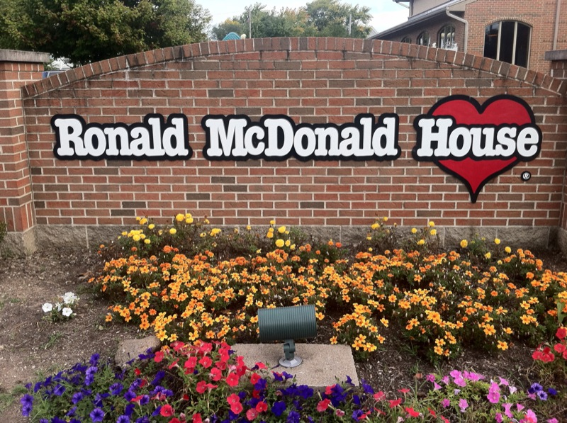 RMHC Dayton sign outside