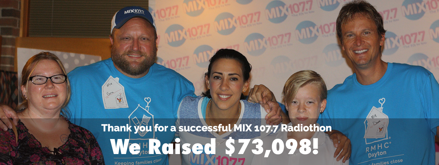 MIX 107.7 HOsts & RMHC donors