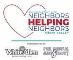 "Cox Media Group Logo ""Neighbors Helping Neighbors"" Underwrittern by White Allen and Dyer Garofalo Mann and Schultz"