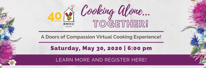 Cooking Alone… Together DOORS Banner